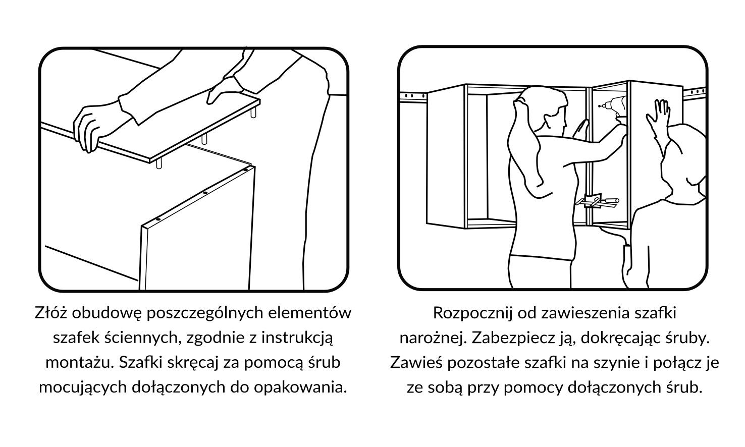 7 zasad montażu mebli kuchennych